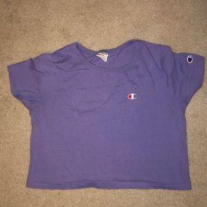 Champion cropped shirt